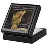 Leo Tolstoy: True Philosophy Keepsake Box