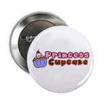 Princess Cupcake Button
