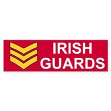 Irish Guards Sgt<BR> Bumpersticker 2