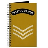 Irish Guards Sgt<BR> Deployment Log Book