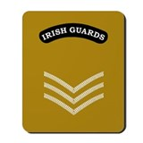 Irish Guards Sgt<BR> Mousepad