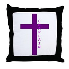 Cute Chaplain Throw Pillow