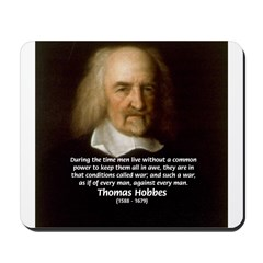 Thomas Hobbes: War Mousepad