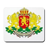 Bulgaria arms Mousepad