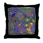Fractal C~13 Throw Pillow (18
