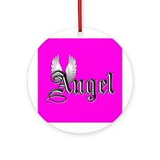 Angel Ornament w/ ribbon