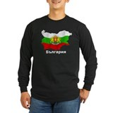 Bulgaria flag map T