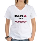 Kiss Me I'm a FILM EDITOR Shirt