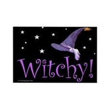 Witchy Hat Rectangle Magnet (10 pack)