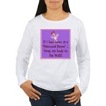 If I keel over shopping... Women's Long Sleeve T-S
