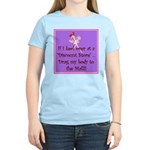 If I keel over shopping... Women's Light T-Shirt