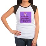 If I keel over shopping... Women's Cap Sleeve T-Sh