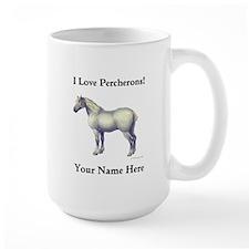 Percheron Horse MugMugs