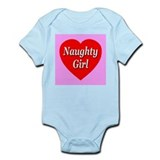 Naughty Girl Infant Bodysuit