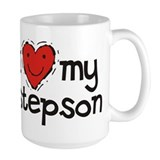&lt;b&gt;&lt;big&gt;I Love My Stepson Mug