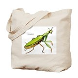 Praying Mantis Insect Tote Bag