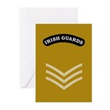 Irish Guards LSgt<BR> Note Cards