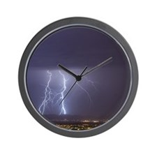 Cute Lightning Wall Clock
