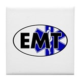 EMT Oval w/SOL Tile Coaster
