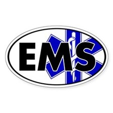 EMS Oval w/SOL Oval Decal
