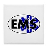 EMS Oval w/SOL Tile Coaster