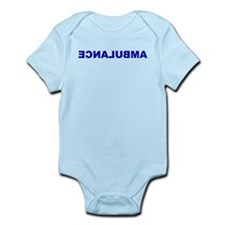 AMBULANCE [backward] Infant Bodysuit