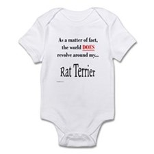 Rat Terrier World Infant Bodysuit