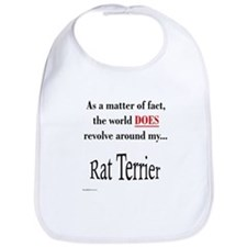 Rat Terrier World Bib
