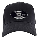 Marcus Aurelius Stoicism Black Cap