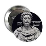 Marcus Aurelius Stoicism Button