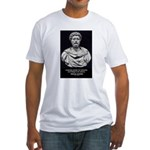 Marcus Aurelius Stoicism Fitted T-Shirt