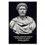 Marcus Aurelius Stoicism Large Poster