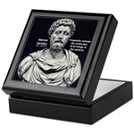 Marcus Aurelius Stoicism Keepsake Box