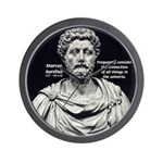 Marcus Aurelius Stoicism Wall Clock