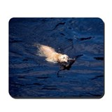 Dog Swimming Mousepad
