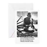 Gandhi Truth Philosophy Greeting Cards (Package of