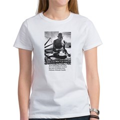 Gandhi Truth Philosophy Women's T-Shirt
