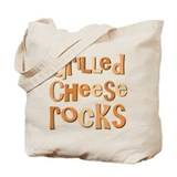 Grilled Cheese Rocks Lover Tote Bag