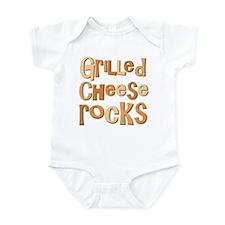 Grilled Cheese Rocks Lover Onesie
