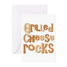 Grilled Cheese Rocks Lover Greeting Cards (Pk of 2