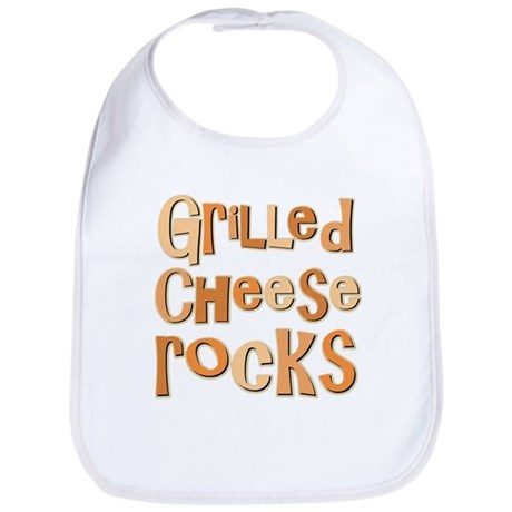 Grilled Cheese Rocks Lover Bib