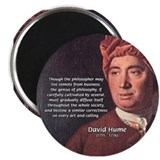 "David Hume Philosophy 2.25"" Magnet (10 pack)"