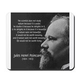 Poincare: Nature Science Mousepad