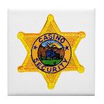 Casino Security Tile Coaster