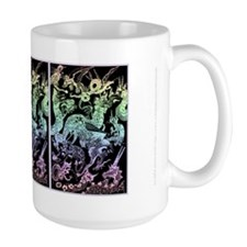 Rainbow Multidragons Coffee Mug