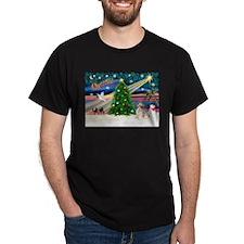 XmasMagic/Puff Crested T-Shirt