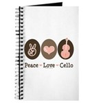 Peace Love Cello Journal