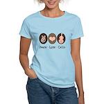Peace Love Cello Women's Light T-Shirt