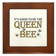 Good To Be Queen Bee Framed Tile