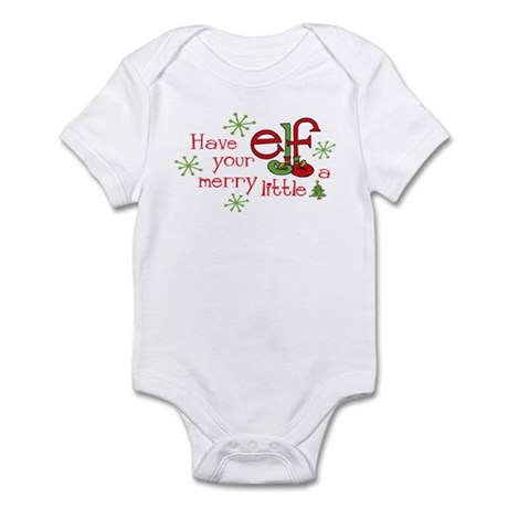 Merry Elf Infant Bodysuit